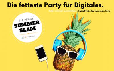 PREVIEW – 05.06.2018 I Summer Slam im Digital HUB Bonn