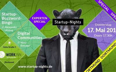 THROWBACK  17.05.2018 – Startup-Nights Experten Special