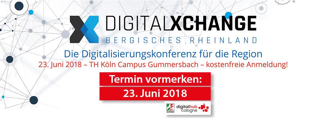 Digital Hub Cologne unterstützt Digital Xchange in Gummersbach