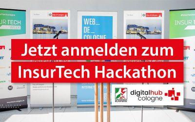 InsurTech Week: Digital Hub Cologne unterstützt InsurTech Hackathon