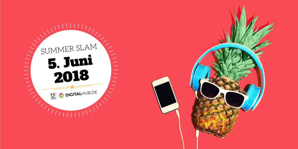 Digital Hubs NRW in Bonn: Jetzt Tickets für Summer Slam 2018 sichern!