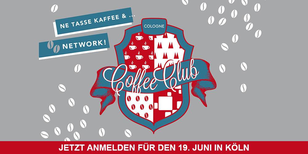 Coffee Club Cologne #4 am 19. Juni in der Handwerkskammer zu Köln