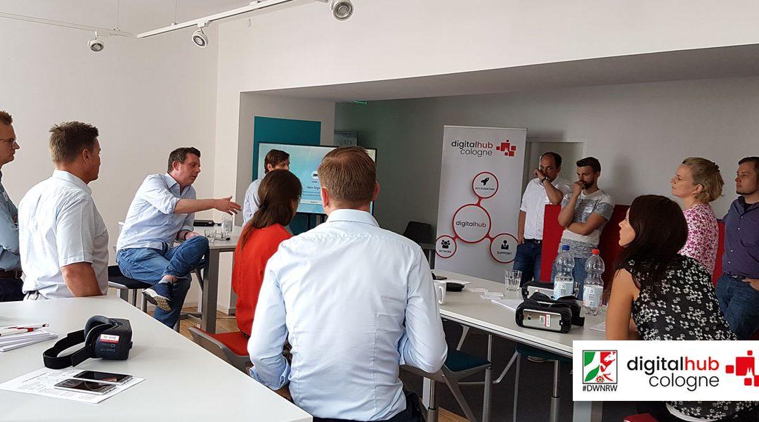Virtual Reality für Schulungen und den Vertrieb beim Digital Hub Cologne