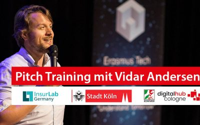 Pitch-Training mit Vidar Andersen im Digital Hub Cologne