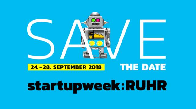 #startupweekruhr – 2018 noch größer